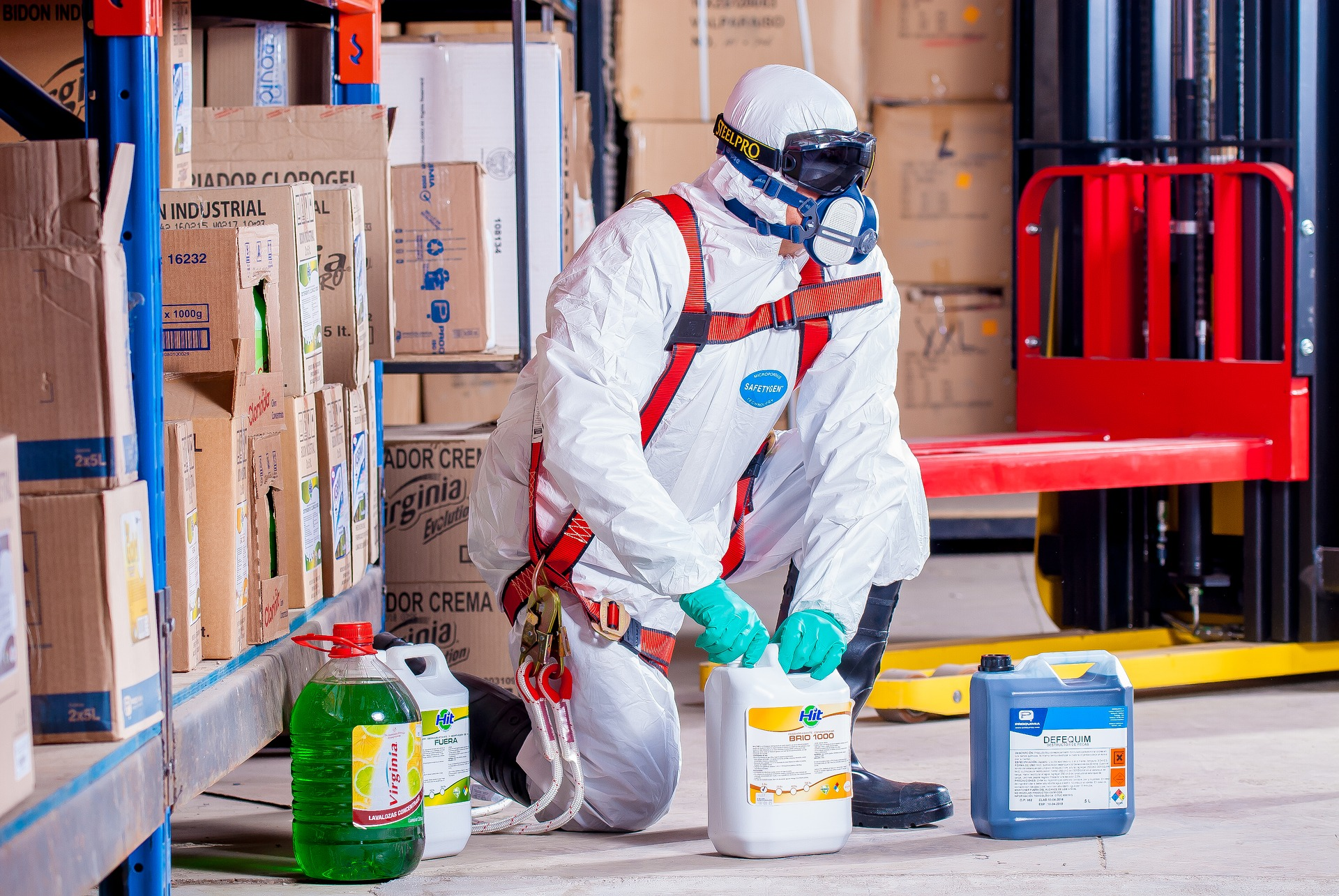 verifiche in corso sul rischio chimico